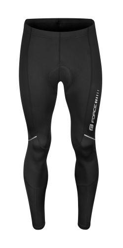 nohavice FORCE Z68 do pása s vložkou, čierne