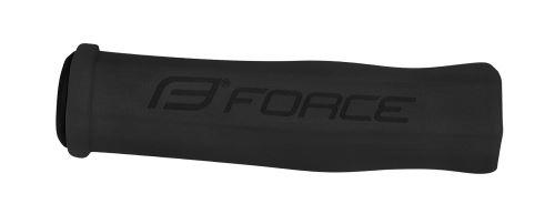 Gripy FORCE penové-tvrdé, čierne