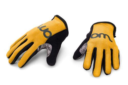 Detské rukavice WOOM - žltá - rôzne veľkosti