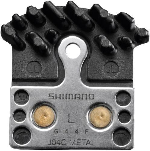 Brzdové doštičky Shimano J04C kovové s chladičom