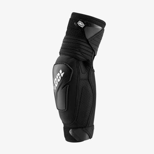 Ochrana lakťov 100% FORTIS Elbow Guard Black