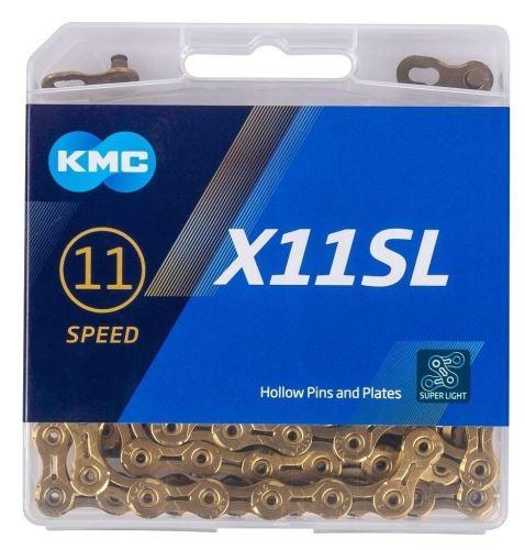 Reťaz KMC X-11 SL Gold - 11 sp - zlatý
