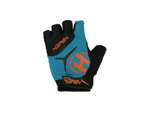 Krátkoprsté rukavice DEMO SHORT blue / orange veľ. XXL