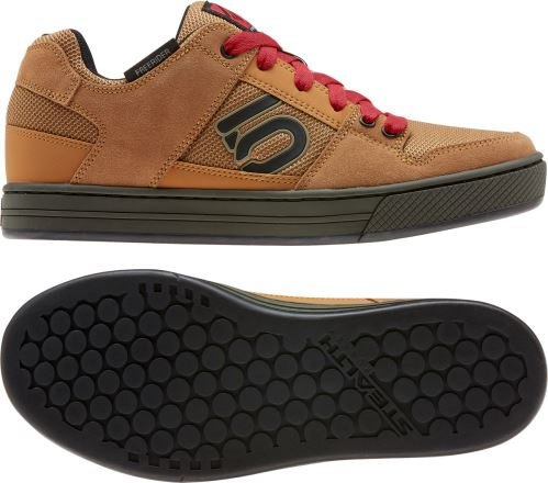 Obuv FiveTen Freerider - Raw Desert / Core Black / Glory Red