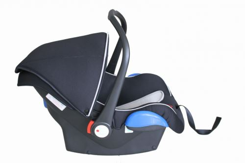 QERIDOO Príslušenstvo - Detské vajíčko / Baby car seat shell Uni - čierna / black, 2017