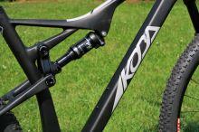 Celoodpružený bicykel Koba Sentiero Ultralight GX1 - L - čierna matná