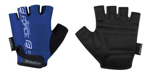 rukavice FORCE KID detské, modré S