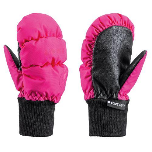 Rukavice Leki Little Eskimo Mitt Short, pink