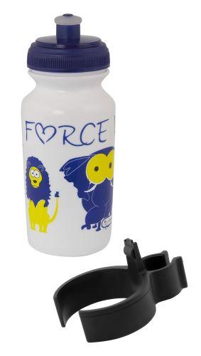 fľaša detská FORCE ZOO s držiakom 0,3 l, Rôzne farby