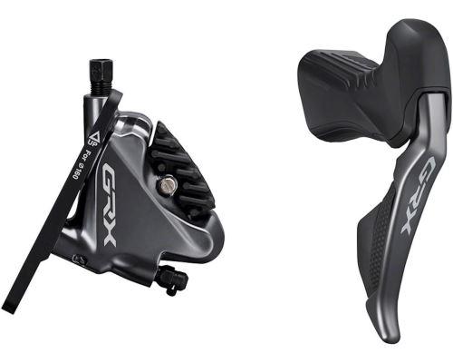 Radiaca a brzdovej páky Shimano GRX Di2 ST-RX815 a brzdové strmene BR-RX815