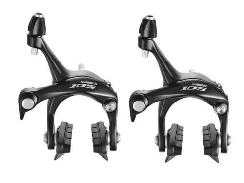 Brzdy Shimano 105 BR-5700 - set, čierne