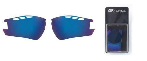 skla náhradné RIDE PRO, modrá laser