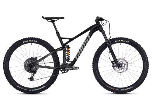 Celoodpružený bicykel GHOST SLAMR X5.9 AL - Jet Black / Urban Gray - 2020