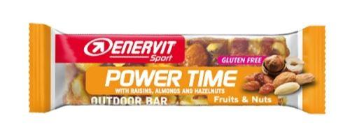 Tyčinka ENERVIT POWER TIME, 35g oriešky + ovocie