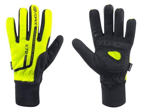 rukavice zimné FORCE X72, Rôzne farby