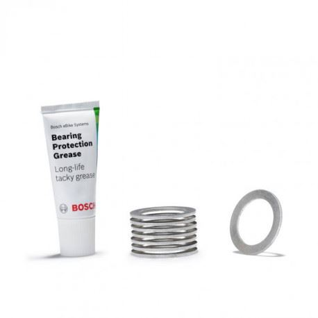 Tesniace krúžky BOSCH bearing protection ring BDU 3xx - 8ks + vazelína
