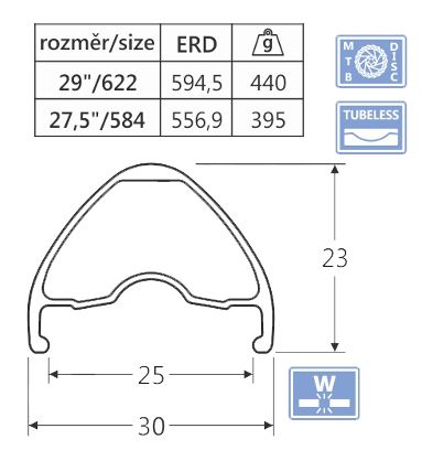 Ráfik javax WD255, 29
