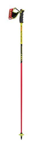 palice LEKI WC Racing Comp neonred / neonyellow-black-white 110