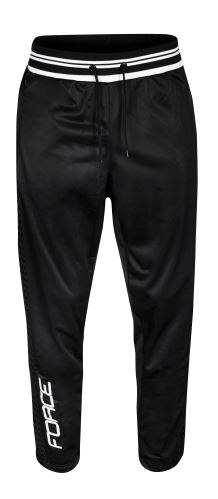 nohavice / tepláky FORCE 1991, čierne XL
