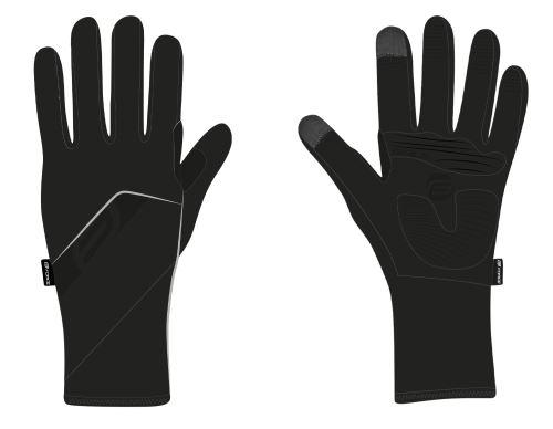 rukavice FORCE GALE softshell, jar-jeseň - Rôzne farby