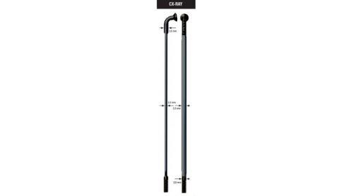 Drôt SAPIM CX Ray - čierny - zeslabovaný 2-0,9-2mm - rôzne dĺžky