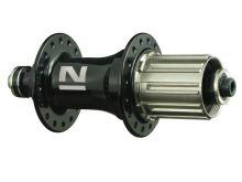 Náboj Novatec F162SB, zadný - čierny (N-logo)