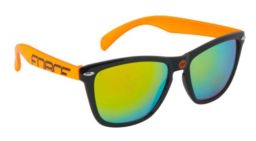 Okuliare FORCE FREE čierno-fluo - čierna laser skla