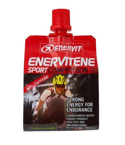 Energetický gél ENERVIT ENERVITENE SPORT COMP - 60ml citrus + kofein
