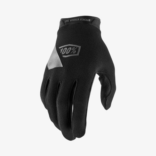 Rukavice 100% RIDECAMP Youth Glove Black - Rôzne veľkosti