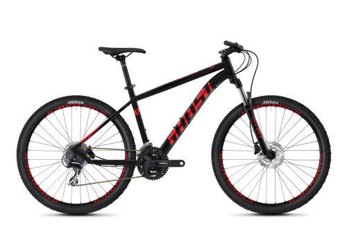 Horský bicykel GHOST KATO 2.7 AL - Jet Black / Riot Red - 2020