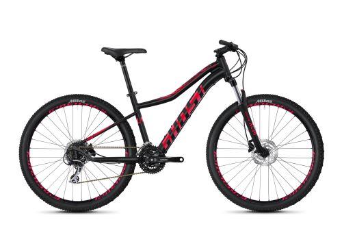 Dámsky horský bicykel GHOST Lanao 3.7 AL - Jet Black / Ruby Pink - 2020