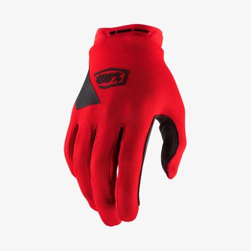 Rukavice 100% RIDECAMP Youth Glove Red