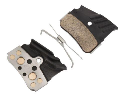Brzdové doštičky Shimano N04C - kovové s chladičom