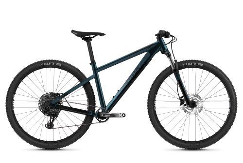 Horský bicykel GHOST NIRVANA TOUR BASE - Petrol Blue / Black Perlized - 2021