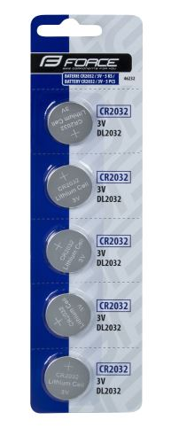 Batérie FORCE - vhodením mince CR2032 / 3V