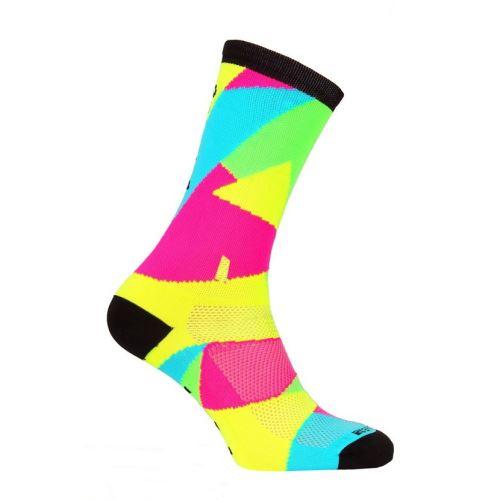 Ponožky Lawi Trizac dlhé, flou-mix black