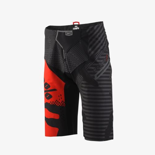 Kraťasy 100% R-Core-X DH Short Black Camo