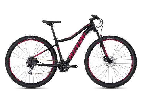 Dámsky horský bicykel GHOST Lanao 3.9 AL - Jet Black / Ruby Pink - 2020