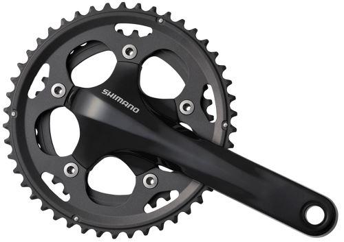 Kľučky cestné-cyklokros Shimano FC-CX50 46x36 - čierne