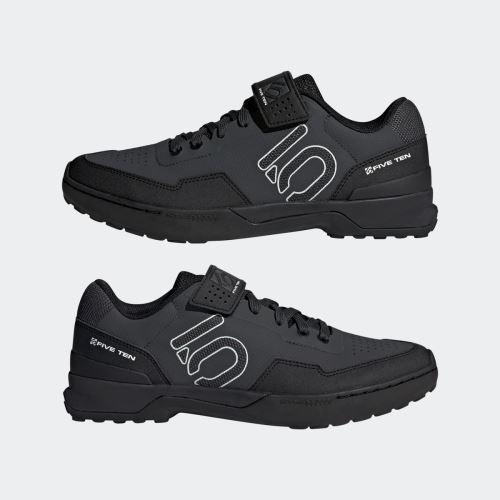 Obuv FiveTen Kestrel Lace - Carbon / Core Black / Clear Grey
