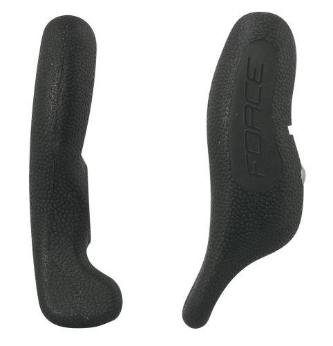 Rohy FORCE RAB Al 12 cm AL + guma - čierne