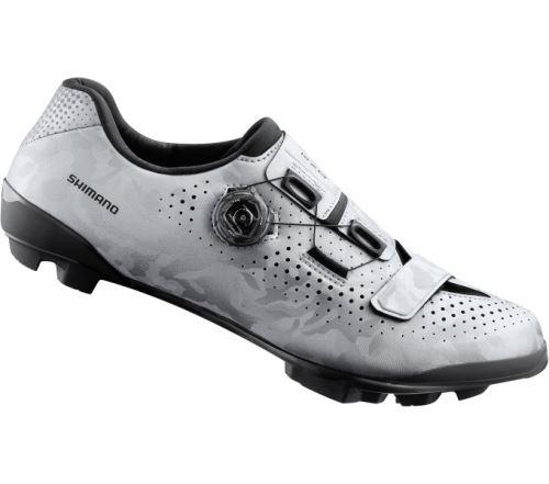 SHIMANO gravel obuv SH-RX800MS, strieborná