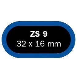 Lepenie - záplata Ferdus ZS9 ovál - 32x16mm