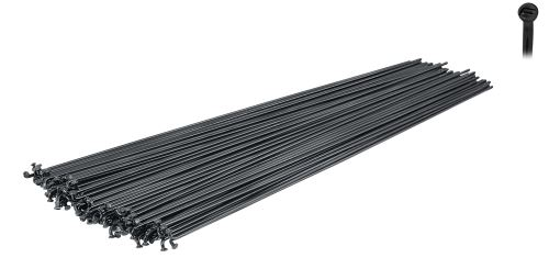 Drôty FORCE-MACH1 INOX PLUS / NEREZ čierne, 2mm, Rôzne dĺžky