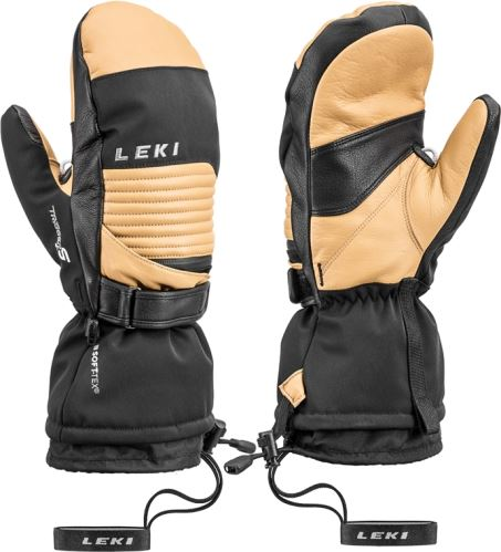 Rukavice LEKI Xplore XT S Mitt tan-black