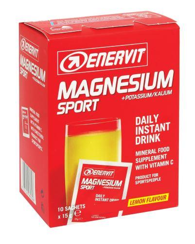 ENERVIT MAGNESIUM SPORT box 10x15g citrón