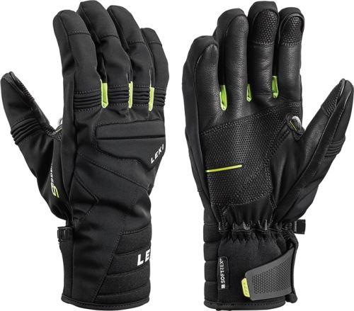 Rukavice LEKI Progressive 7 S mf touch black-lime