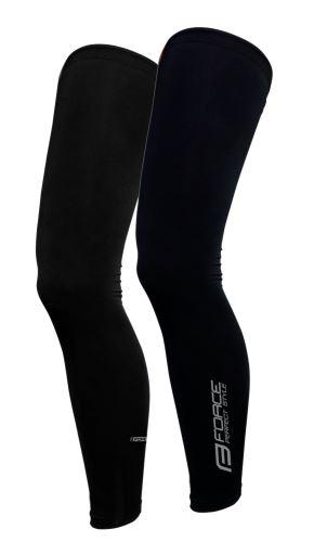 Návleky na nohy FORCE TERM - dlhé - čierne XL