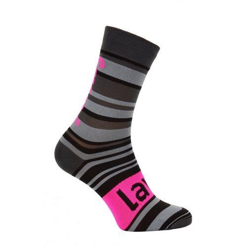 Ponožky Lawi Rava dlhé, flou-pink-grey