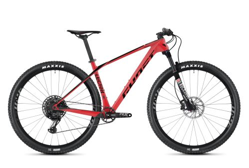 Horský bicykel GHOST LECTOR 3.9 LC - Riot Red / Jet Black - 2020